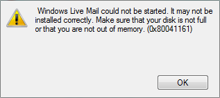 Fix-Windows-Live-Mail-wont-start
