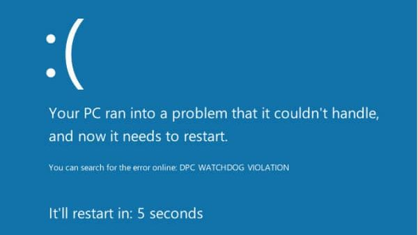How to Fix DPC_WATCHDOG_VIOLATION BSOD Error in Windows 10