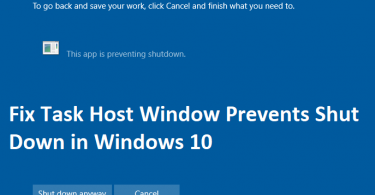 Fix-Task-Host-Window-Prevents-Shut-Down-in-Windows-10
