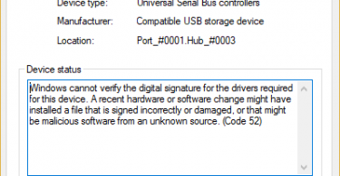 Fix-USB-Error-Code-52-Windows-cannot-verify-the-digital-signature