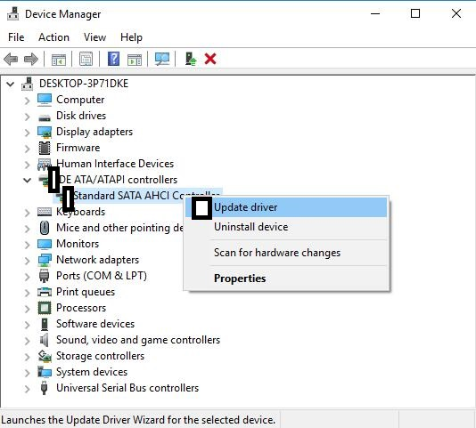 How To Download Standard SATA AHCI Controller Driver Windows 10