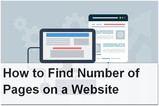 How to Find Number of Pages on a Website