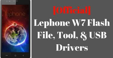 Lephone W7 Flash File And Tool