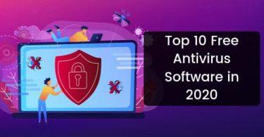 Top 10 Free Antivirus Software in 2020
