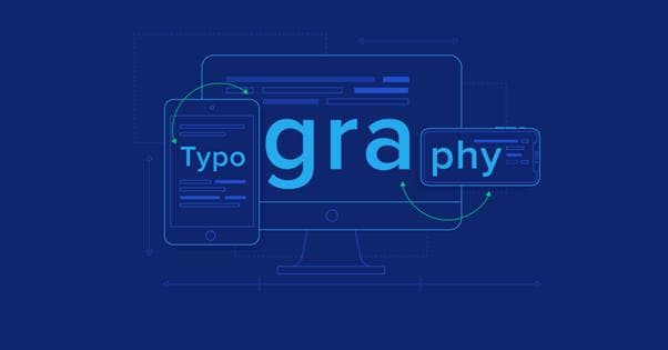 Typography and fonts - what is important to know
