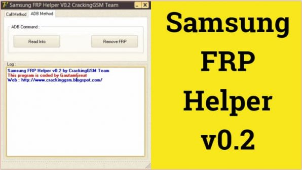 Download Samsung FRP Helper Tool v0.2 latest version 2020