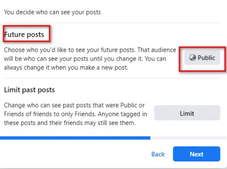 future posts change