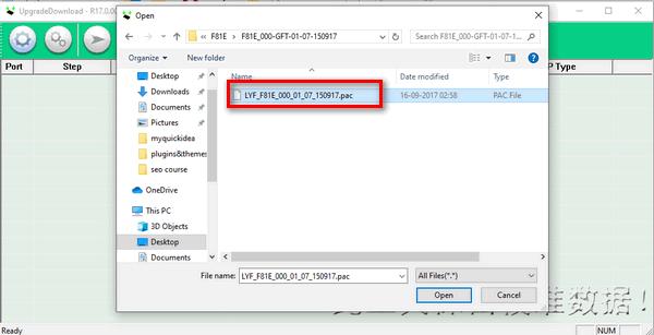 load .pac file