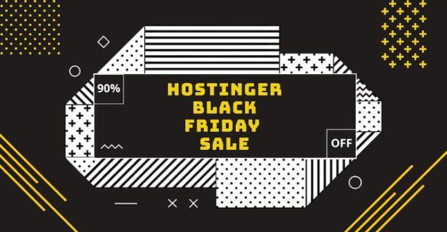 hostinger black friday 2020
