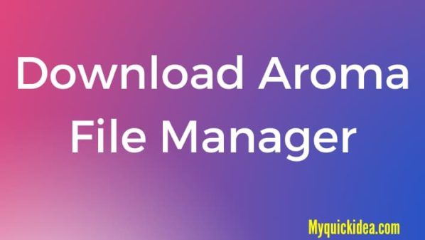 Download Aroma File Manager