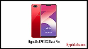 Oppo A3s CPH1803 Flash File