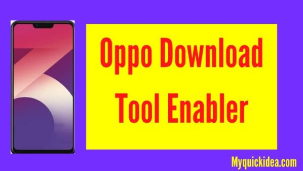 Oppo Download Tool Enabler
