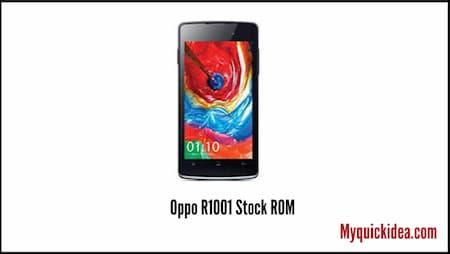 Oppo R1001 Stock ROM (Flash File)