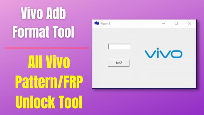 Vivo ADB Format Tool Download