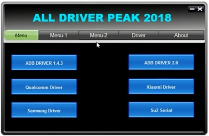 download driver in all in one frp unlock tool latest