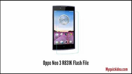 Oppo Neo 3 R831K Flash File