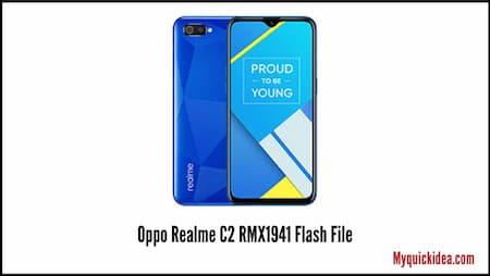 Oppo Realme C2 RMX1941 Flash File (Stock ROM)