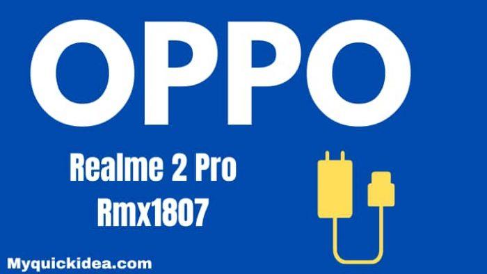 Realme 2 Pro Rmx1807 Flash File Firmware