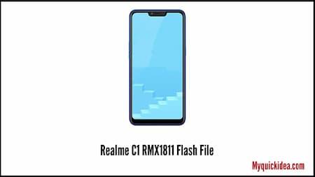 Realme C1 RMX1811 flash file stock rom
