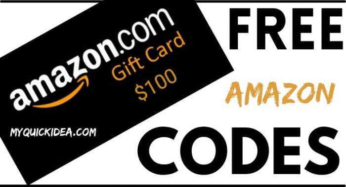 Amazon Gift Card Generator 2021 Free Amazon Gift Card Codes