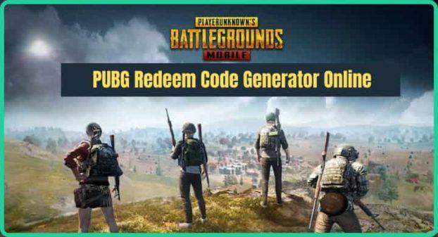 PUBG Redeem Code Generator Online