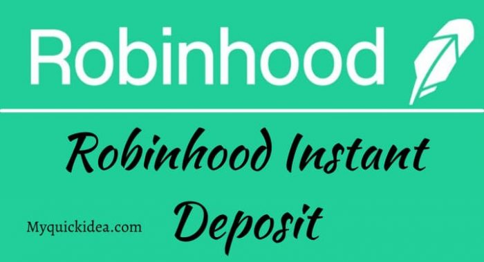 Robinhood Instant Deposit